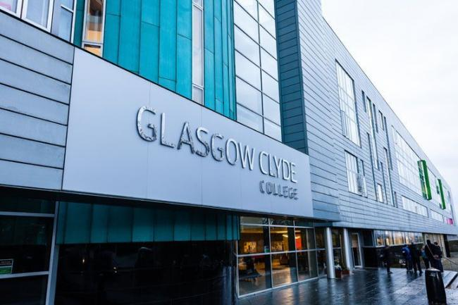The Anniesland campus of Glasgow Clyde College.