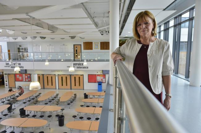 Headteacher: 'Blue water' school is safe and has not caused cancer