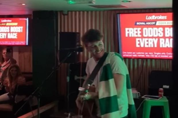 Watch Paolo Nutini sing Celtic anthem You'll Never Walk Alone