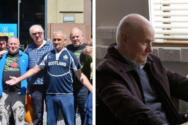 John Connelly has been compared to Daniel Blake Picture: Kirsty Anderson Newsquest/ Herald and Times26/06/19