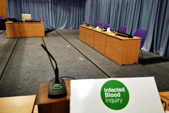 The Infected Blood Inquiry at the Edinburgh International Conference Centre