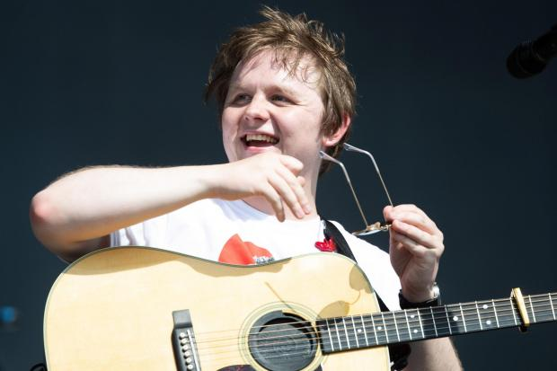 Glasgow Times: Lewis Capaldi appears to be enjoying the feud