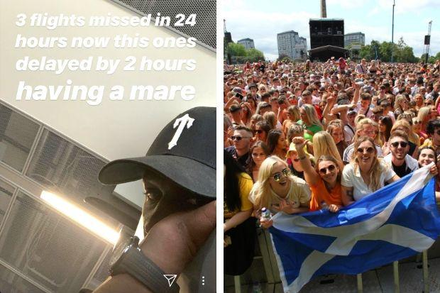 'Having a mare': Fears Stormzy could miss TRNSMT amid flights chaos
