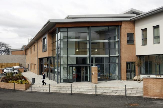 The opening of a new Mental health hospital at Gartnavel Royal Infirmary by Scottish Health Secretary Nicola Sturgeon..
