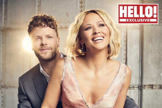 Kimberley Walsh and Jay McGuiness