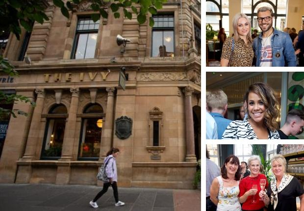Amy MacDonald and Judy Murray at The Ivy Glasgow