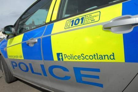 Emergency services respond after crash on Barrhead Road