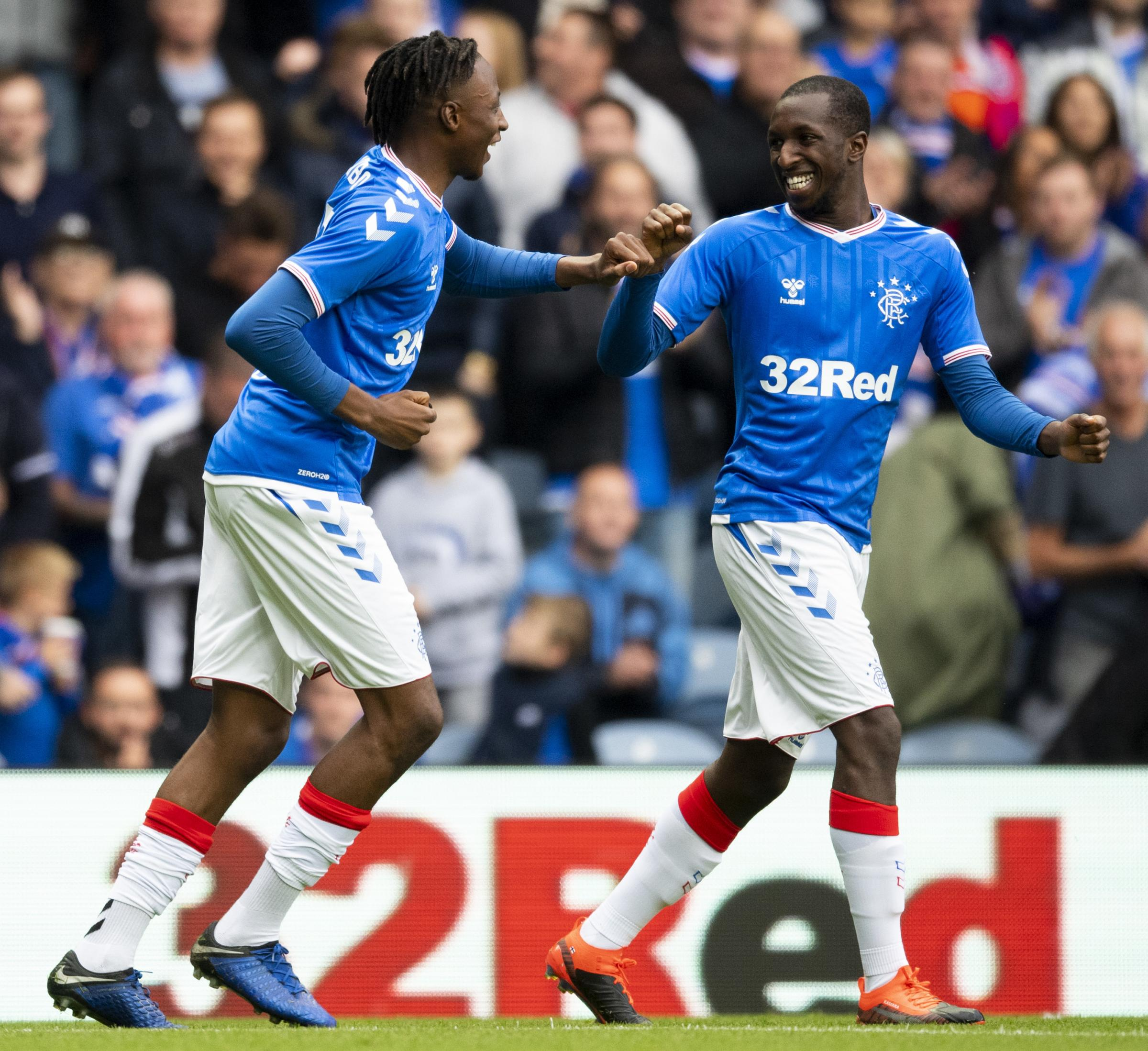 Ayo Obileye reveals Rangers duo are an inspiration after move to Livingston