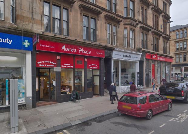 Glasgow Times: Mario's Plaice on Byres Road