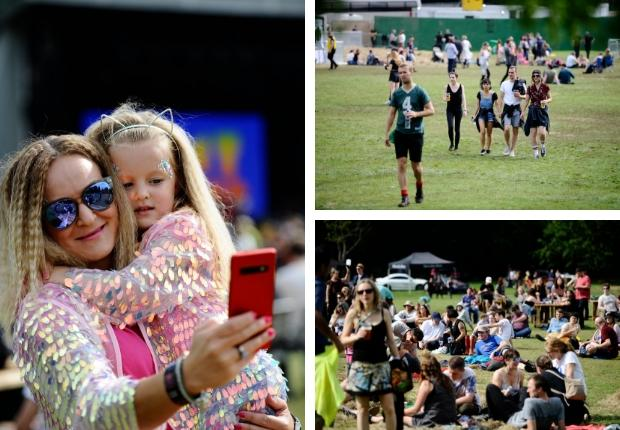 In pictures: Fans enjoy the last day of Playground festival
