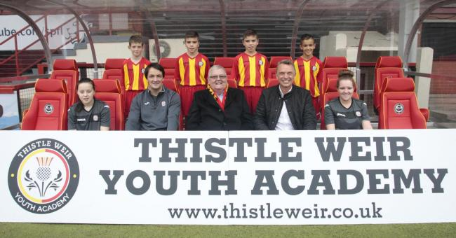 Colin Weir will fund the Thistle Weir Youth Academy until 2021 PHOTO: PA