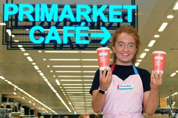 Scotland's first cafe inside a Primark store has opened