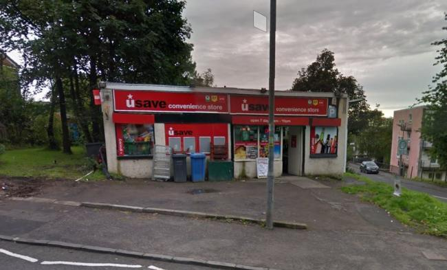 Cops hunt for gang armed with crowbar who raided Clydebank shop