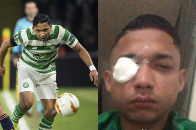 Ex-Celtic star Emilio Izaguirre opens up on horrific derby which left him with glass shards in eye and three fans dead