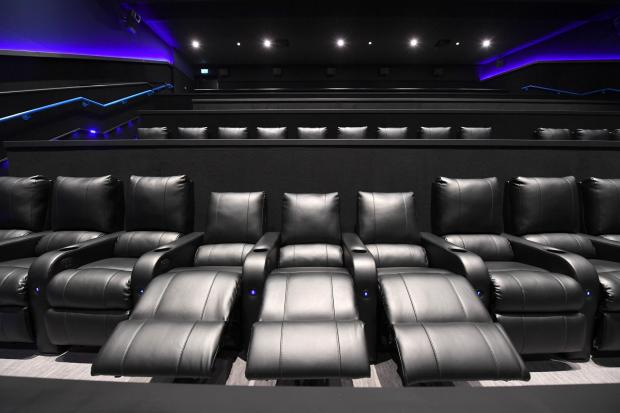 Glasgow Times: Luxury seats for Cineworld