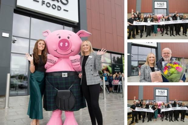 Marks & Spencer's new food store in Cumbernauld opens
