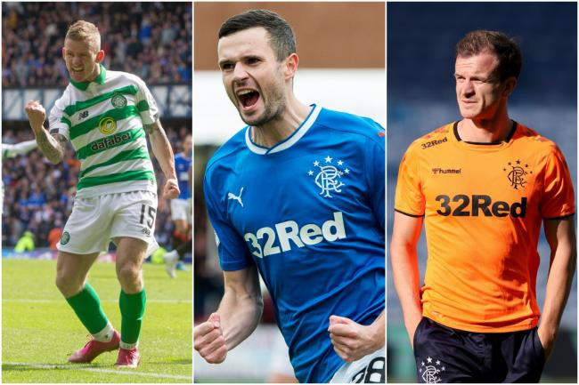 Celtic's Jonny Hayes pictured on SFA coaching course with Rangers rivals days after scoring in Ibrox win