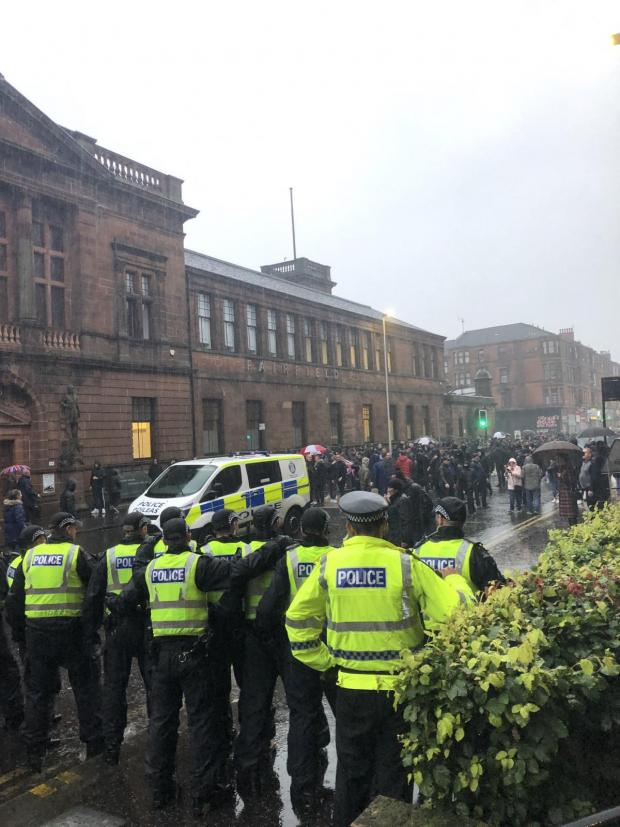 Glasgow Times: Police chiefs have issued a warning ahead of future marches
