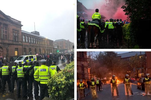 Government to consider law change to tackle sectarianism after Govan riot
