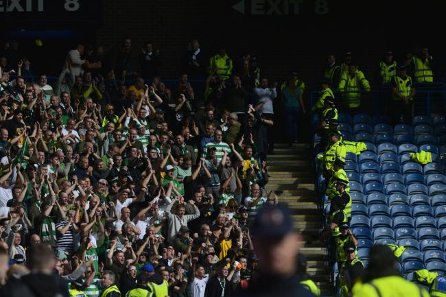 Tickets for the Celtic end at Ibrox last Sunday were priced at £52.