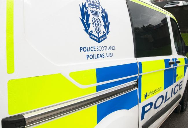 Police are appealing for information after a white van was stolen from outside a property in Clydebank