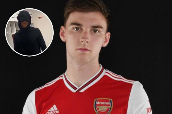 Ex-Celtic star Kieran Tierney dubbed 'Scottish Batman' as he has Arsenal teammates in stitches