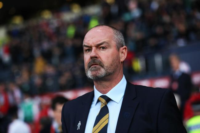 Scotland manager Steve Clarke. Photo by Ian MacNicol/Getty Images.