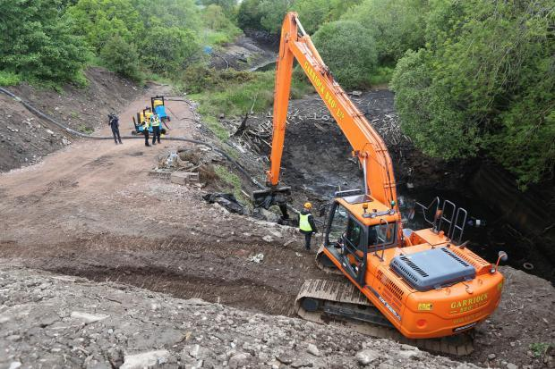 Glasgow Times: Officers had drained the Leanach Quarry, near Inverness in their investigations