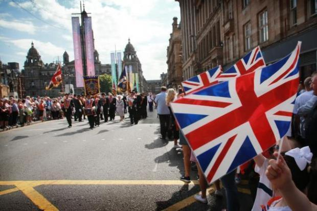 Glasgow Times: Loyalist and Republican marches face a temporary ban