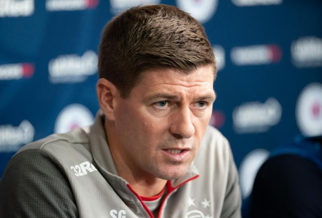Rangers manager Steven Gerrard PHOTO: PA