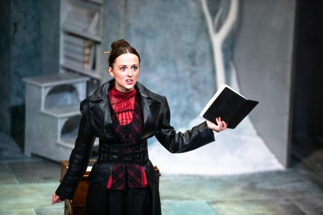 Eilidh Loan stars as Mary Shelley in frankenstein