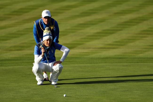 Suzann Pettersen won the Solheim Cup for Europe