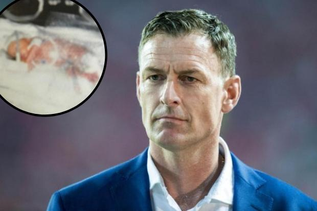 Celtic legend Chris Sutton hails Glasgow medical staff on his son's 18th after they saved him as tot