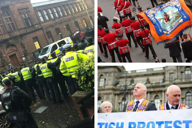 Loyalist marches allowed to go ahead by Glasgow City Council after weekend ban