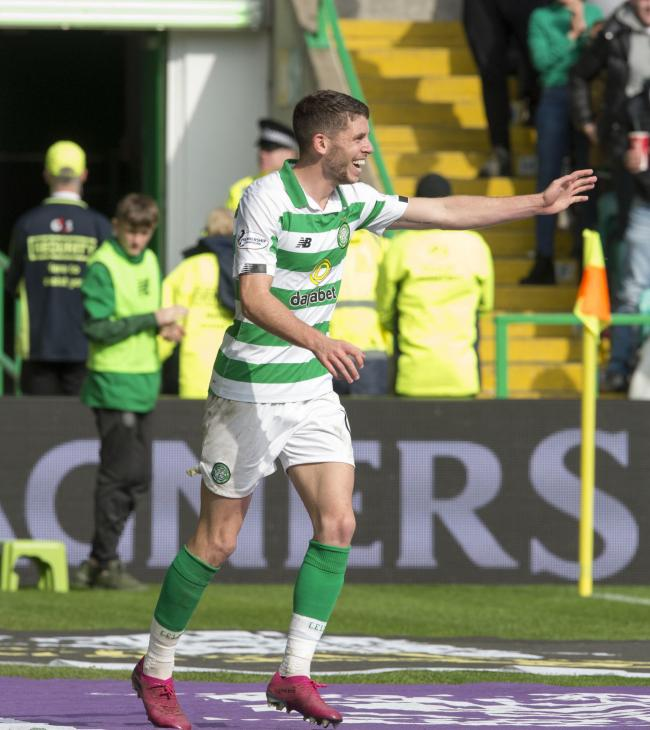 Ryan Christie grabbed Celtic's third goal as the came back to win against Kilmarnock.