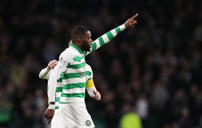 Olivier Ntcham scored a wonderful double as Celtic cruised past Partick Thistle.