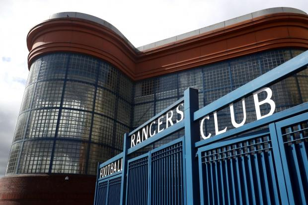 Glasgow Times: The gates of Ibrox Stadium