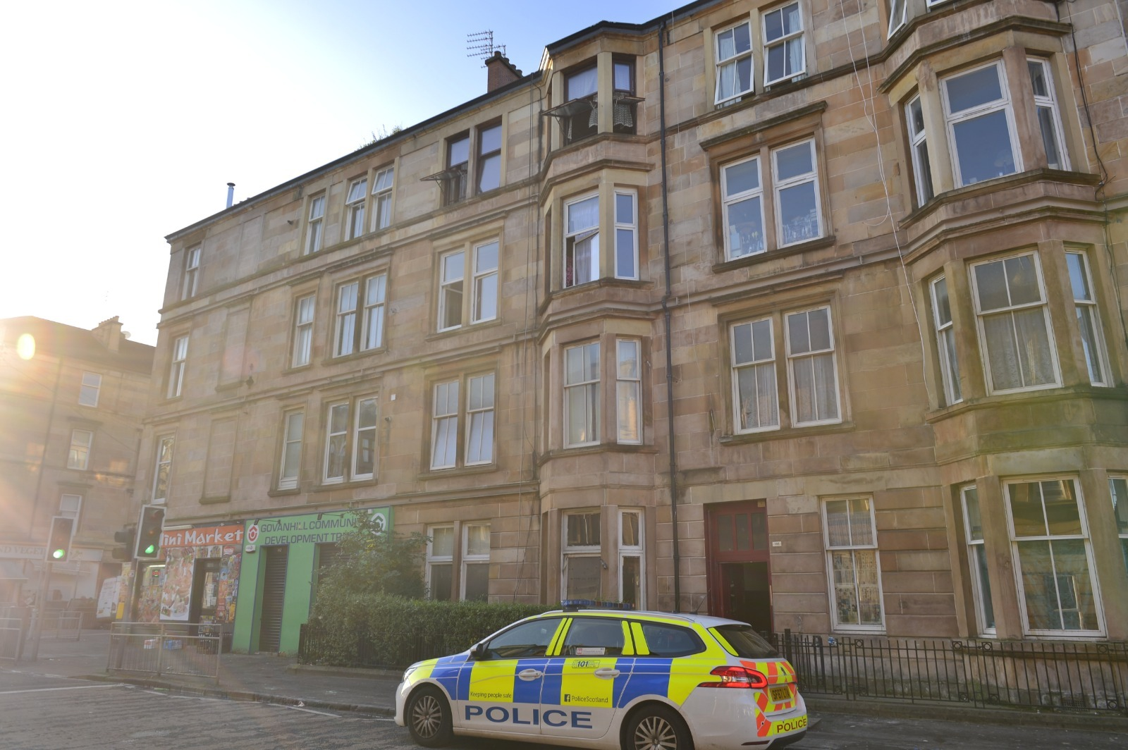 Man sobs as he's jailed for crime spree in Glasgow's Govanhill