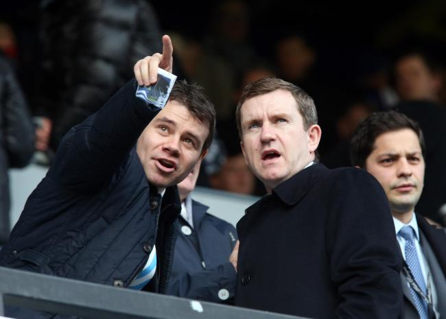 Ross Wilson (left) and Dean Hoyle