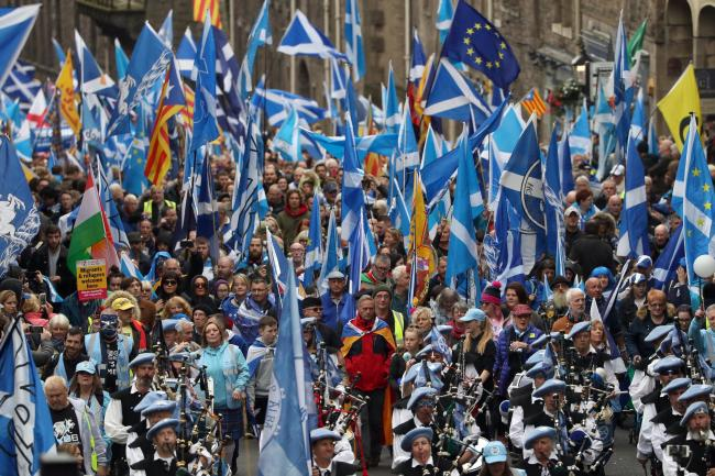 Nicola Sturgeon to tell Glasgow rally an independent Scotland is 'within touching distance'