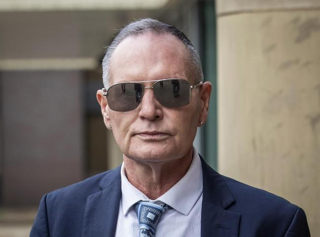 Paul Gascoigne denies the sexual assault charge