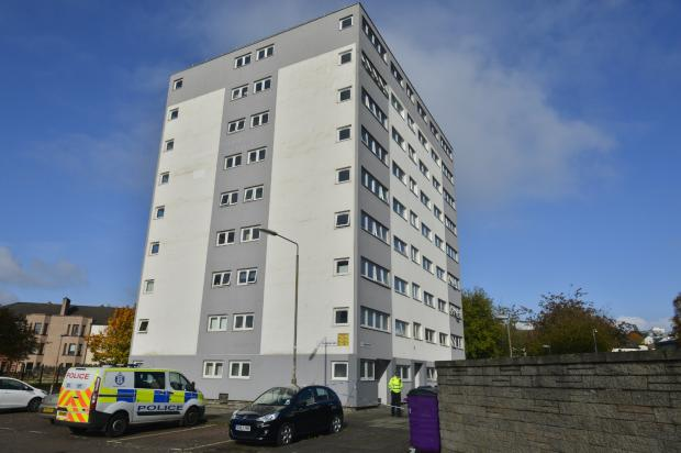 Glasgow Times: Police have launched a death probe (Jamie Simpson pictures)