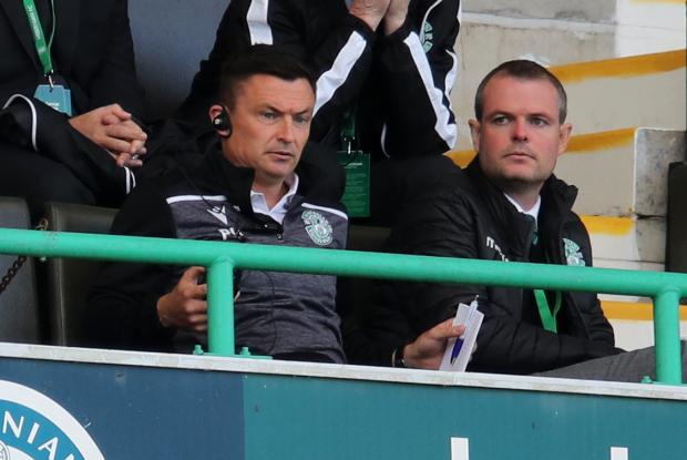 Glasgow Times: Paul Heckingbottom was sent to the stands