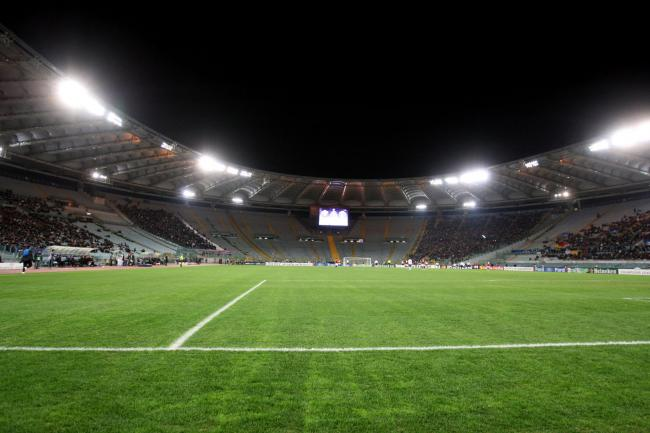 Lazio have been handed a partial stadium closure by UEFA PHOTO: PA