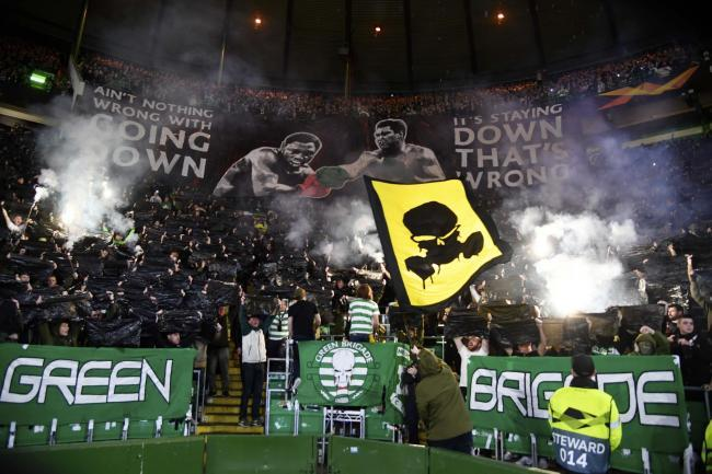 Celtic fined again by UEFA after setting off fireworks in Europa League clash with Cluj