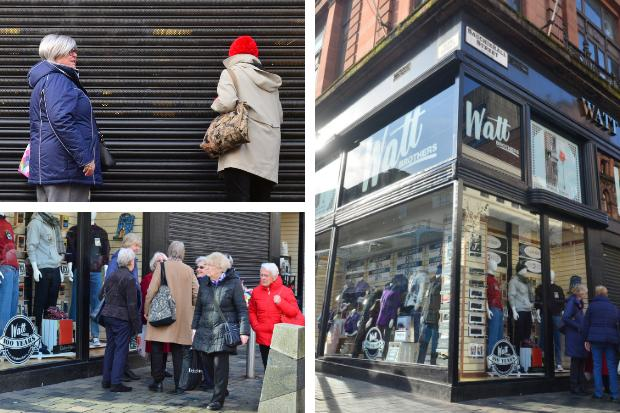 'Last of the classic departments stores': Devastation at Watt Brothers 'closure'
