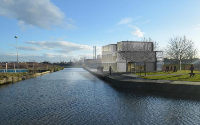 Forth and Clyde Canal artist impression