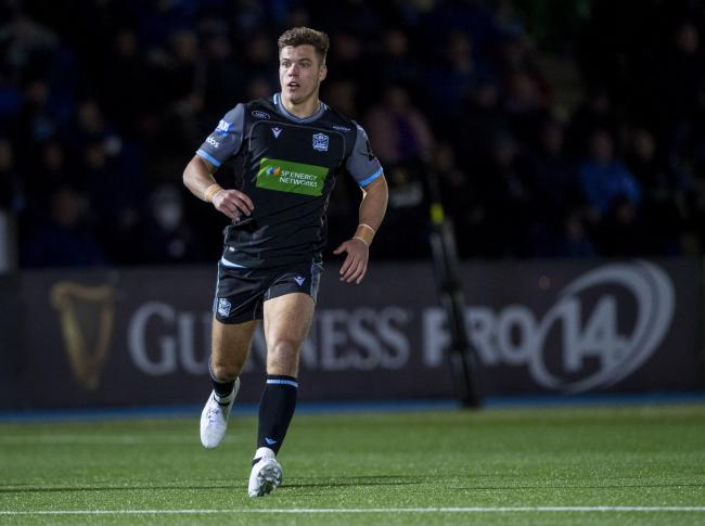 Huw Jones is relishing his return to the Glasgow Warriors