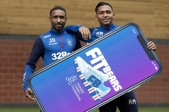 Rangers fans have racked up 250 million miles since December using a new fitness challenge app