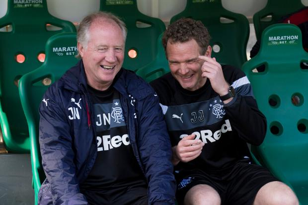Ex-Rangers coach Jimmy Nicholl recalls boos as he brought on Bruno Alves while 3-0 down at Hibs in infamous 5-5 draw